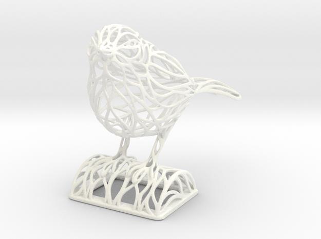 Voronoi Songbird 3d printed