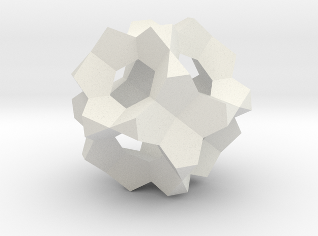 Cell 8-fl 2 in White Natural Versatile Plastic