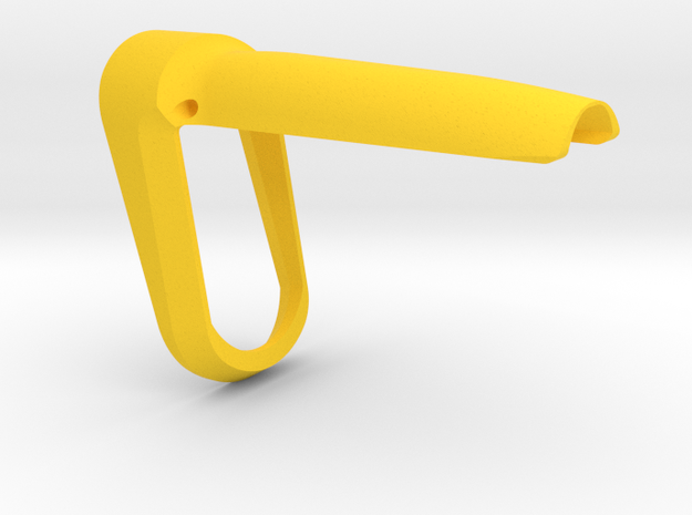 P-09 Backstrap Funnel (S) in Yellow Processed Versatile Plastic