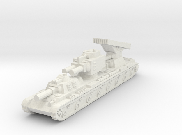 Russian KV-VI Behemoth (1/285) Qty 1 in White Natural Versatile Plastic