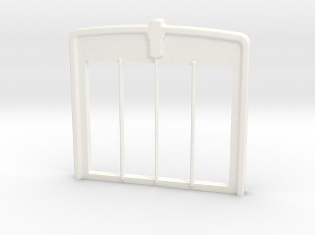W900 Stock GRILL 2 in White Processed Versatile Plastic