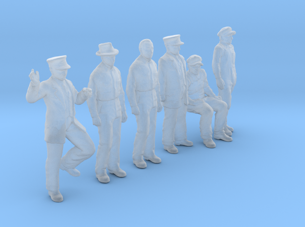 1:64 Figure Pack 03 in Smoothest Fine Detail Plastic