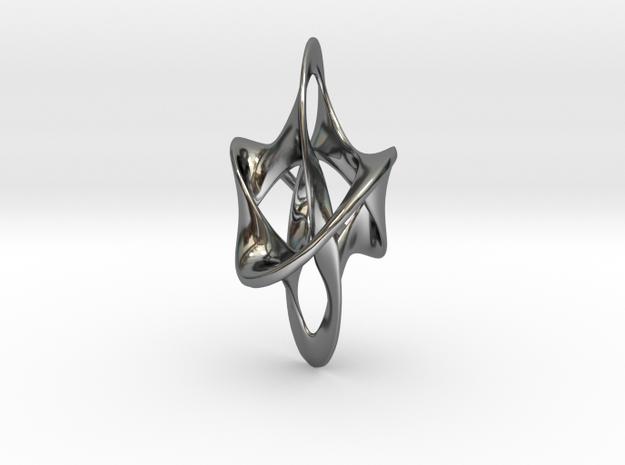 Antichron Elongate - 40mm in Premium Silver