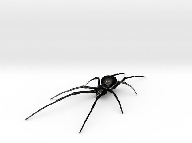 Spider in Matte Black Steel