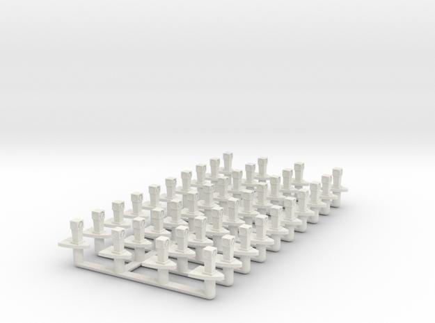 Safty Island Rev2-print in White Strong & Flexible