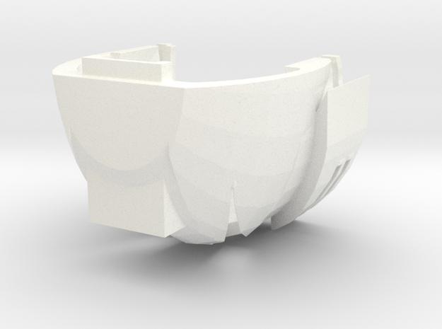 Grand Rottis in White Processed Versatile Plastic