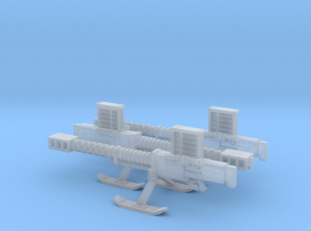 SciFi Lahti automatic cannon 3d printed