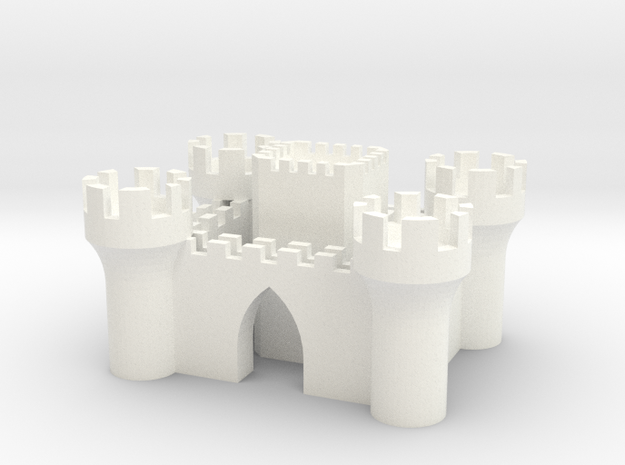 Castle in White Strong & Flexible Polished