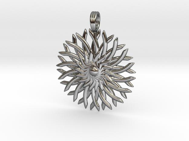 SPIRAL VORTEX in Premium Silver