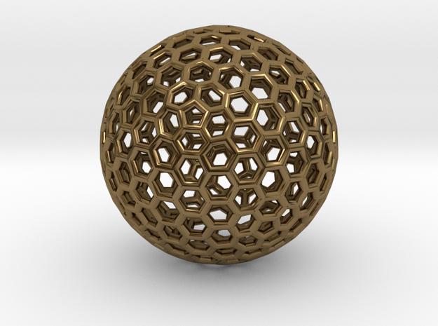 Goldberg Polyhedron pendant