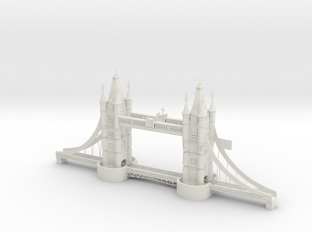 London Bridge 3d Printing
