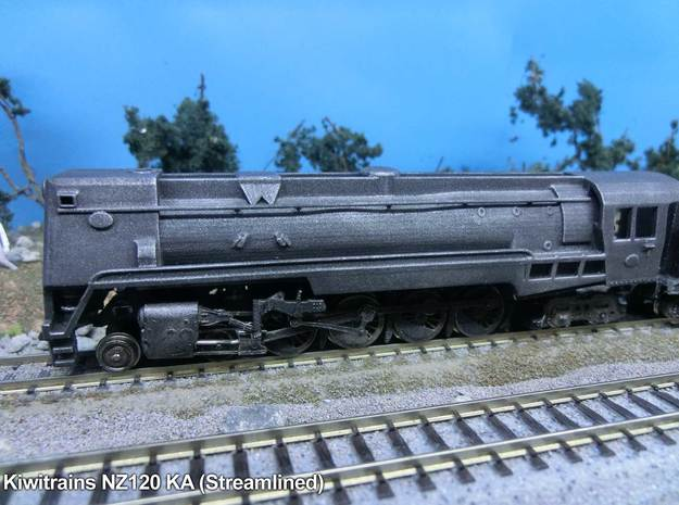 NZ120 NZR Ka (Steamlined) 3d printed Printed in Frosted Ultra Detail