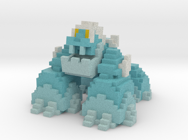 Vox Snow Golem in Full Color Sandstone