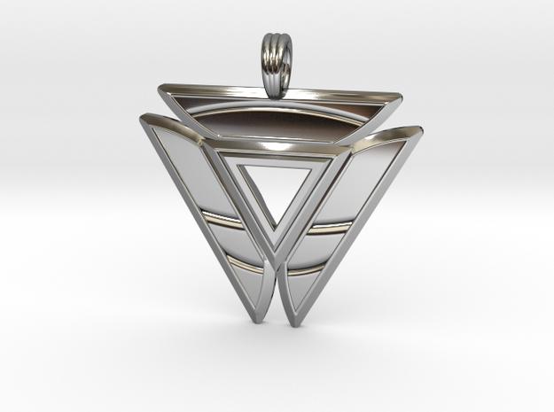 TRINITY INVERT in Premium Silver