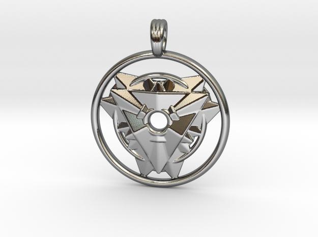 TRINITY MATRIX in Premium Silver