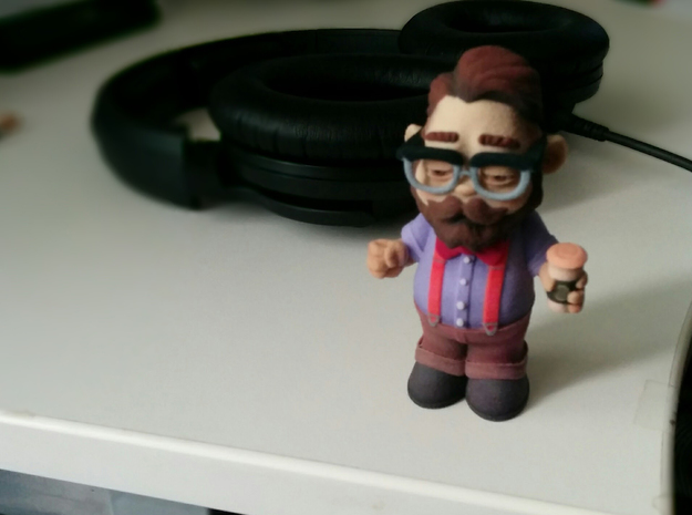 Lil'hipster in Full Color Sandstone