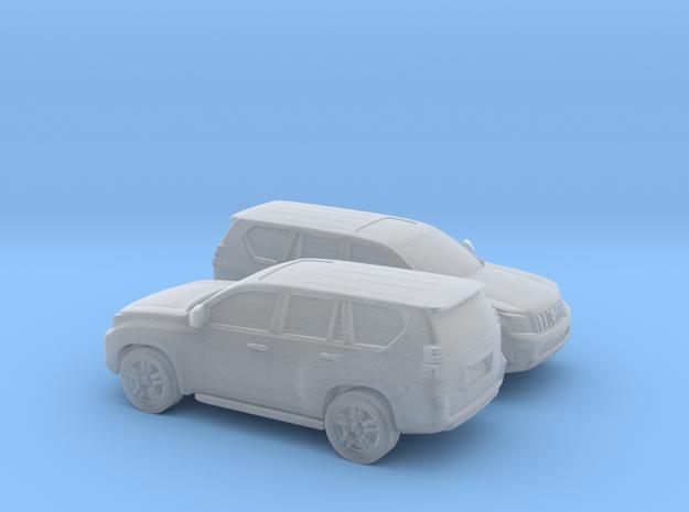 1/200 2X 2008-Present Toyota Land Cruiser in Smooth Fine Detail Plastic