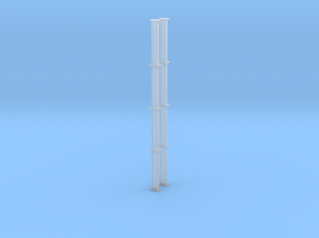 'HO Scale' - Bucket Elevator - 40 ft. Casing in Smooth Fine Detail Plastic
