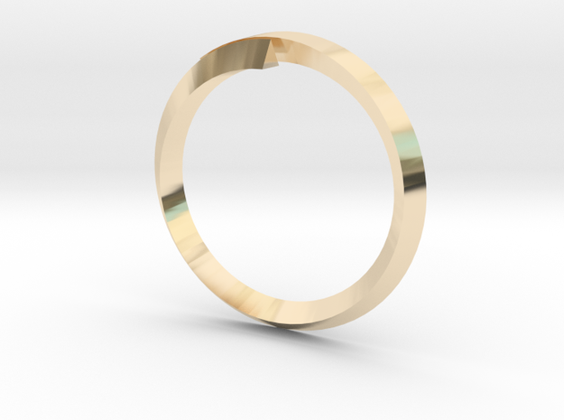 (T)Ring(le) in 14K Yellow Gold