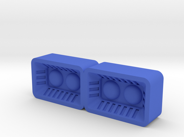 V.E.N.O.M Switchblade cartoon jet thrusters. in Blue Processed Versatile Plastic