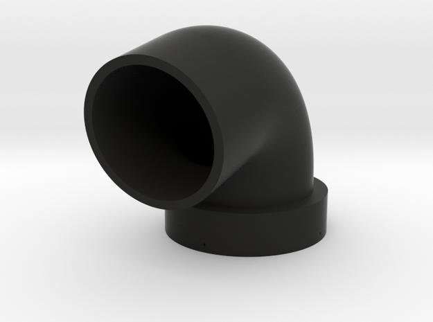 TurboKeychains_GE_Downpipe-v2.0.4 in Black Natural Versatile Plastic