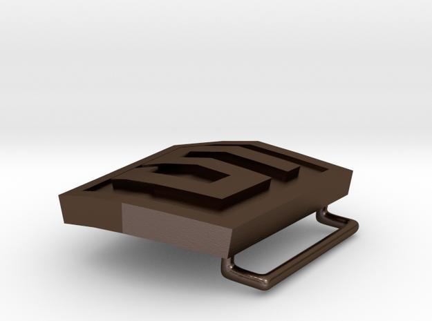 HTML5 Belt Buckle 3d printed