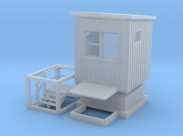 CNR Washago Signalmans Cabin (N-Scale, 1:160) 3d printed