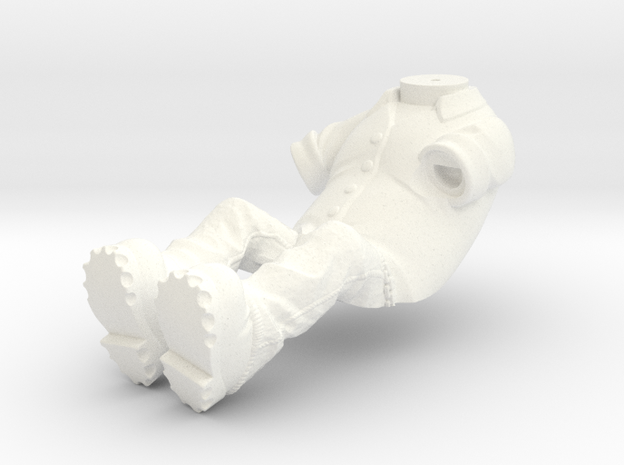 WW10006 Wild Willy Glamis driver Body 3d printed The part as it comes from Shapeways