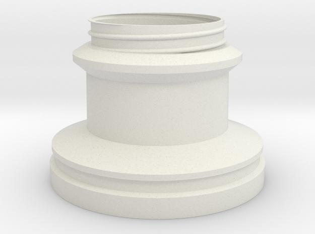 Oscar Base in White Natural Versatile Plastic