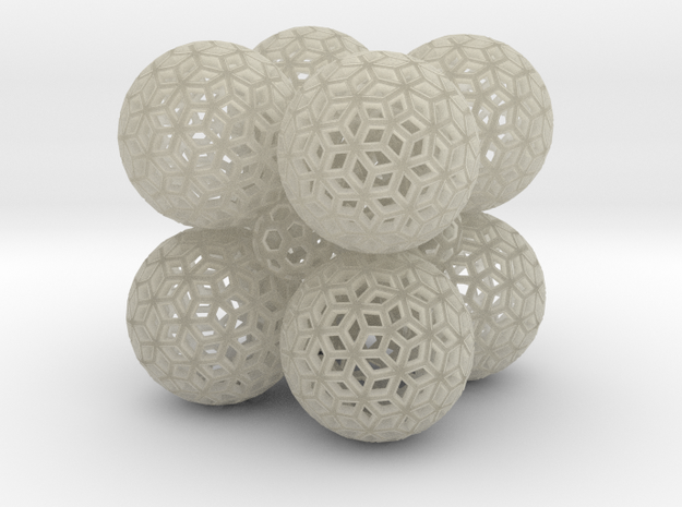 Kuball All Spheres2 3d printed