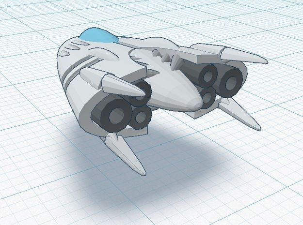 Slipstream II-B 3d printed XIA Tier 2 spacecraft REGULATION XIA SPEC