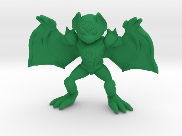 Desmodian Warrior in Green Processed Versatile Plastic