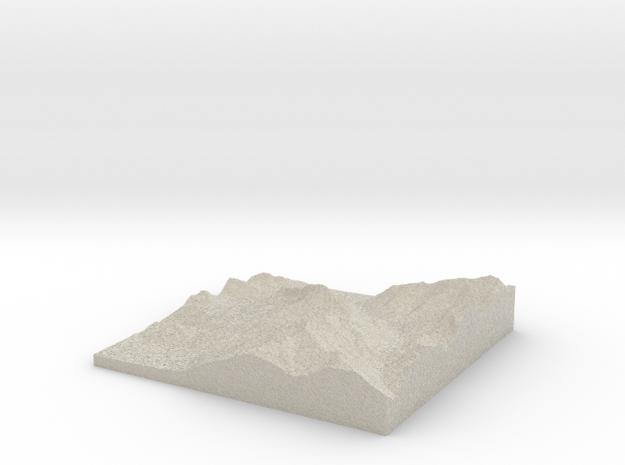 Model of Säulinghaus in Natural Sandstone
