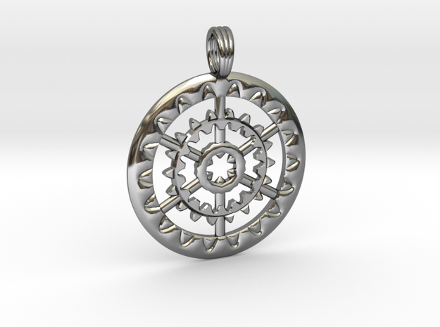 ISLAND MIRACLE in Fine Detail Polished Silver