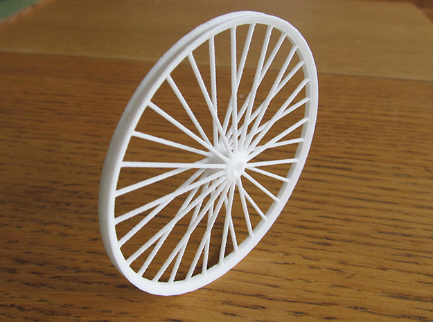 Pit Sheave Wheel 60mm in White Strong & Flexible