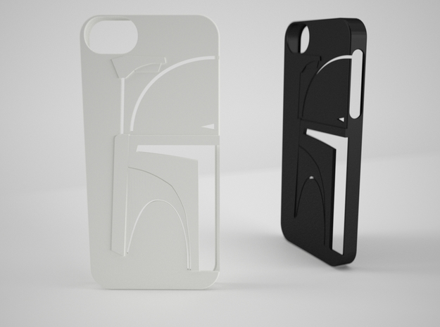 Bounty Hunter Iphone 5 Case V2 in White Processed Versatile Plastic
