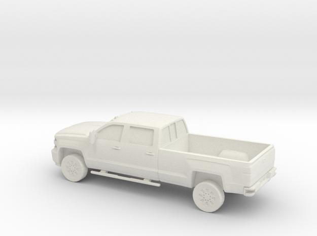 1/56 2015 Chevrolet Silverado Long Bed in White Natural Versatile Plastic