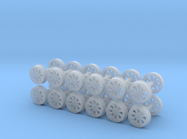 MOW Wheel (N - 1:160) 24X in Smoothest Fine Detail Plastic