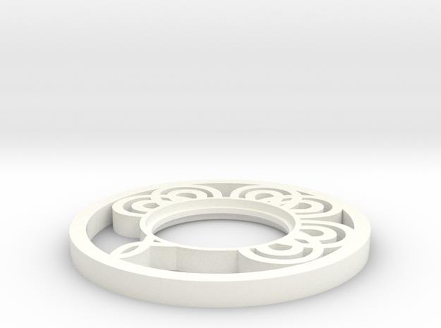 Lightsabers Medieval Tsuba in White Processed Versatile Plastic