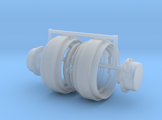 1/64 34in FWA Big Hub Rims in Smoothest Fine Detail Plastic