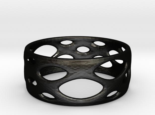 Frohr-designbracelet-4.10.2015-1 in Matte Black Steel