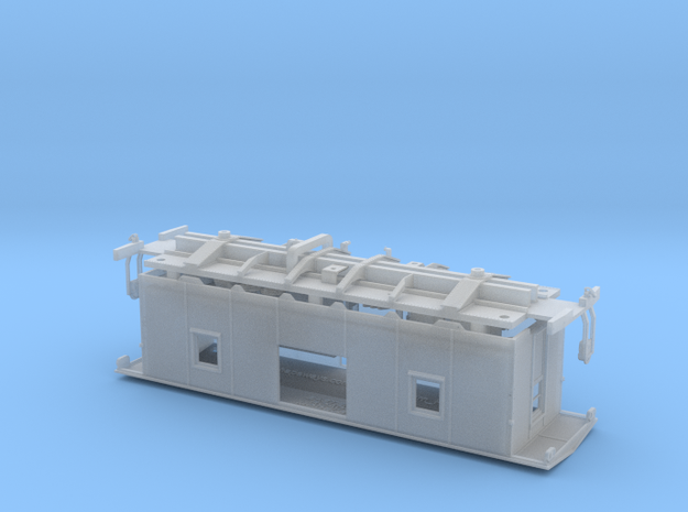 NAR Bay Window Caboose S Scale