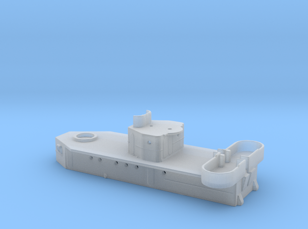Hughes Deckhouse In 1-700th Scale in Smoothest Fine Detail Plastic