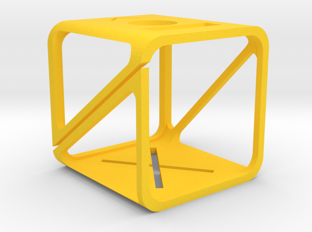 GoPro 4 Session case in Yellow Processed Versatile Plastic