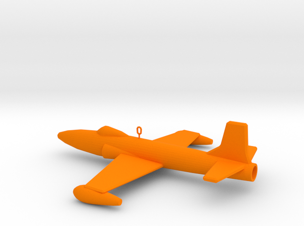 F-80 Ornament in Orange Strong & Flexible Polished