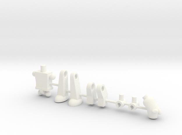 Teroborg in White Processed Versatile Plastic