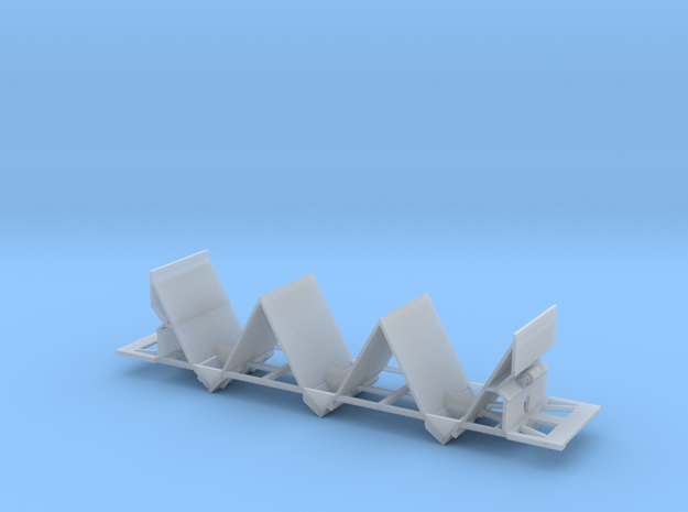 Florida Rock Hopper Frame N scale in Smooth Fine Detail Plastic