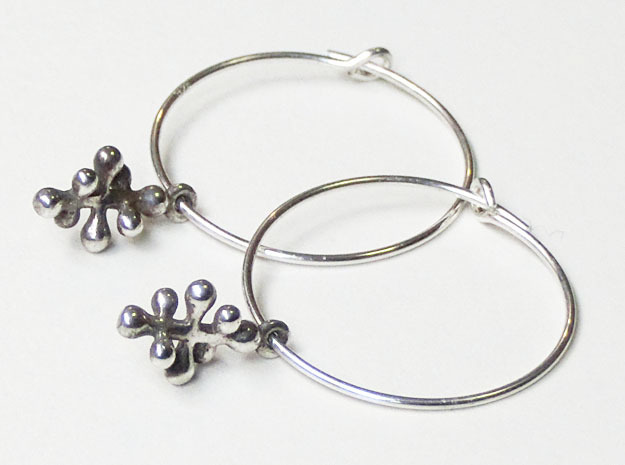Twisting Pair 1 in Natural Silver