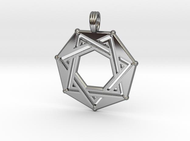 SEPTAGRAM (FRAME) in Premium Silver