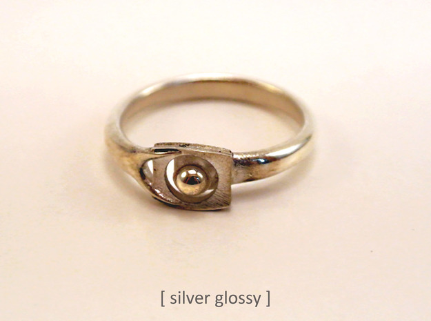 OnYearTogether ring in Polished Nickel Steel